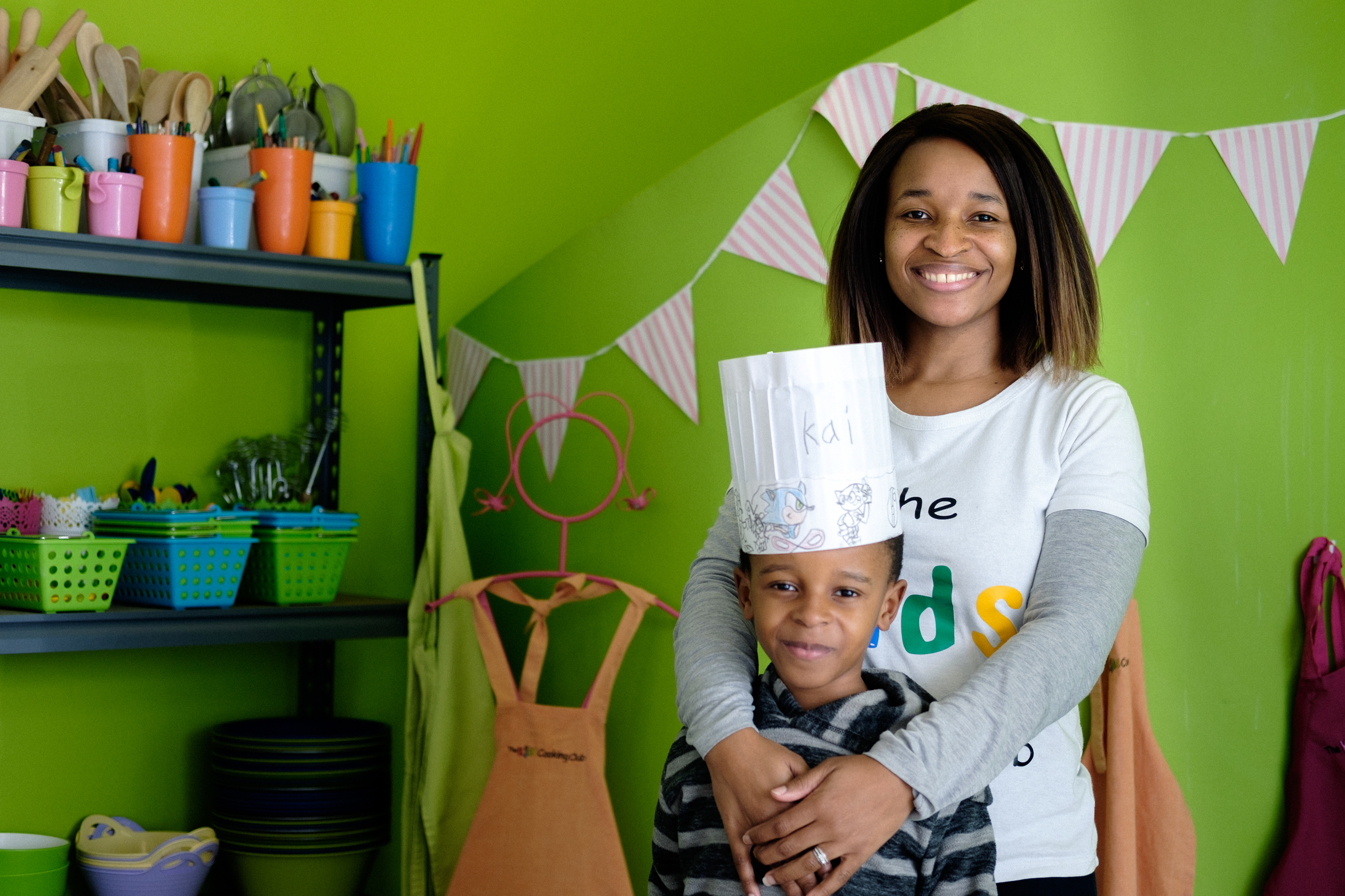 Mondisa, a client of Lulalend, can access capital to grow her business and enrich the lives of many more children.