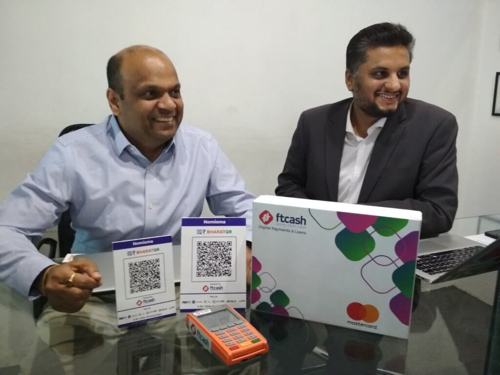 Two of ftcash's co-founders Sanjeev Chandak and Vaibhav Lodha