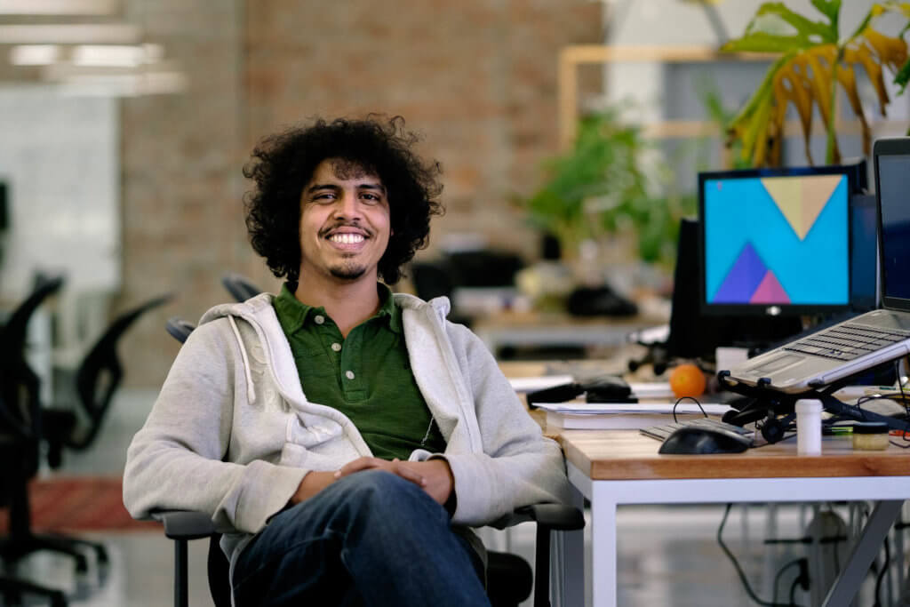Lumkani software engineer Dinesh